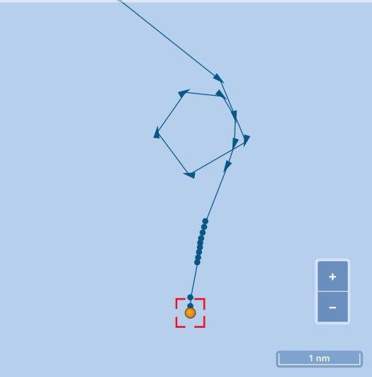 Twitter Front Altair Tanker track
