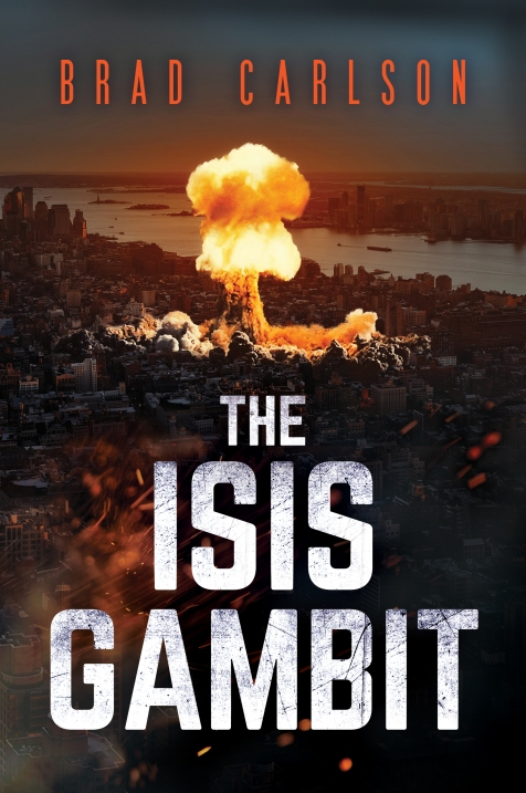 KINDLE Cover - The ISIS Gambit 29 Oct 2019